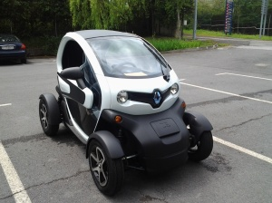 Real Twizy photo